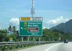 Getting To Cameron Highlands