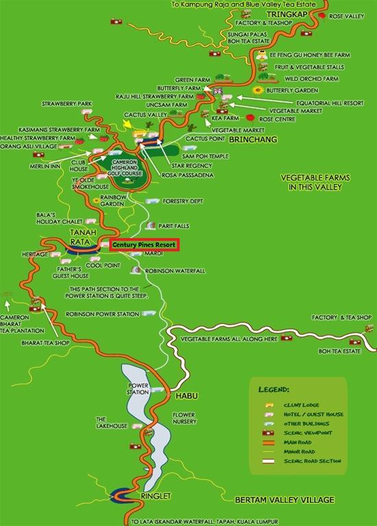 Century Pines Resort Cameron Highlands